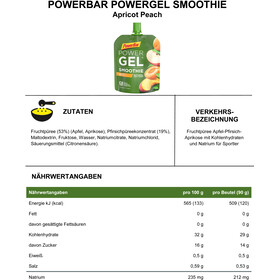PowerBar PowerGel Smoothie Box 16x90g, Apricot Peach